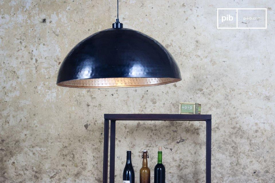 Grande lampe suspendue de 60 cm de diamètre