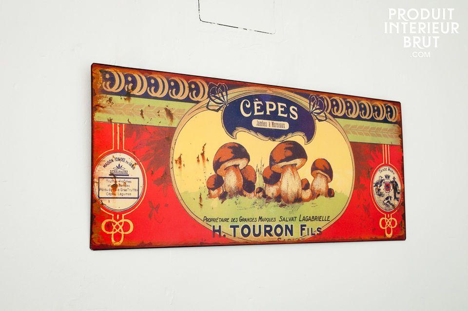 Plaque décorative Touron
