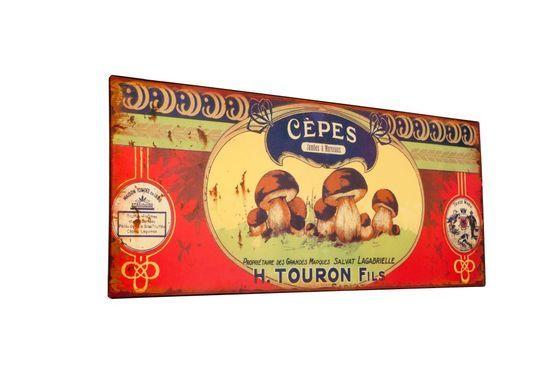 Plaque décorative Touron Détouré