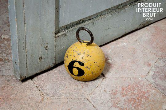 Poids jaune numéro 6