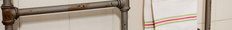 Mise en avant matière Porte-serviettes Pipeline