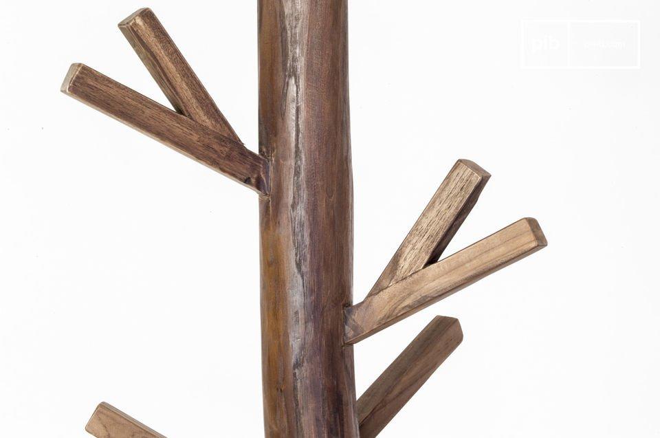 Charme et la robustesse du bois massif