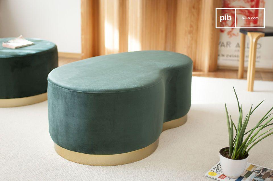 Ludique, doux et confortable pour s'asseoir en duo