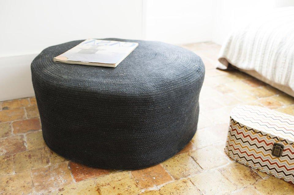 Un pouf séduisant pour un touche de décoration cosy très pratique