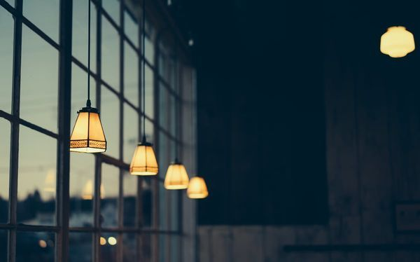 Lampes suspendues vintage
