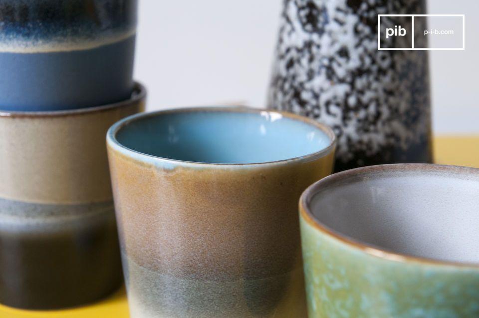 Ce design vintage contribuera à faire de votre pause café un vrai moment de plaisir