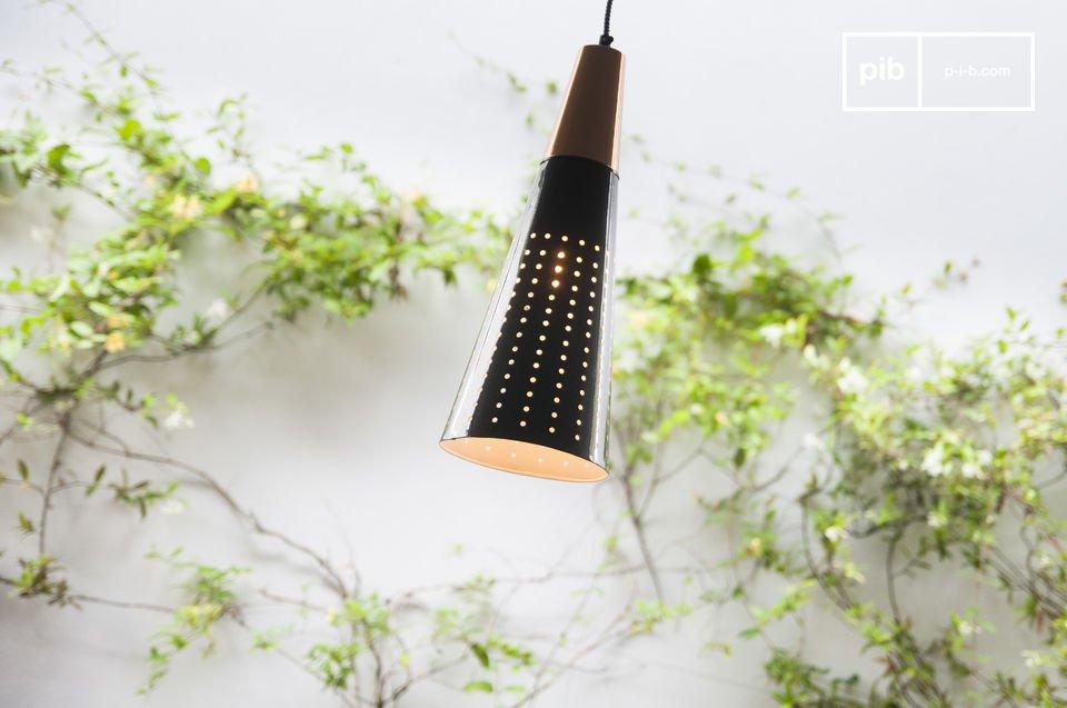 Un luminaire design pour une ambiance tamisée