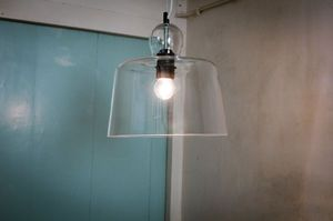 Suspension Cloche en verre