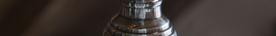 Mise en avant matière Suspension en verre Sweet Bell