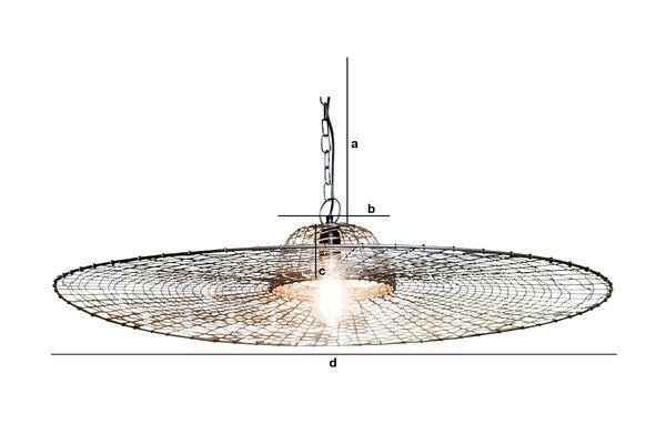 Dimensions du produit Suspension Grid