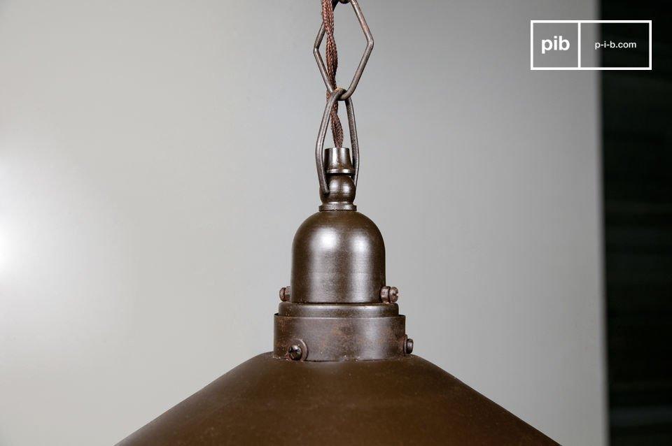 Un luminaire original, avec beaucoup de cachet