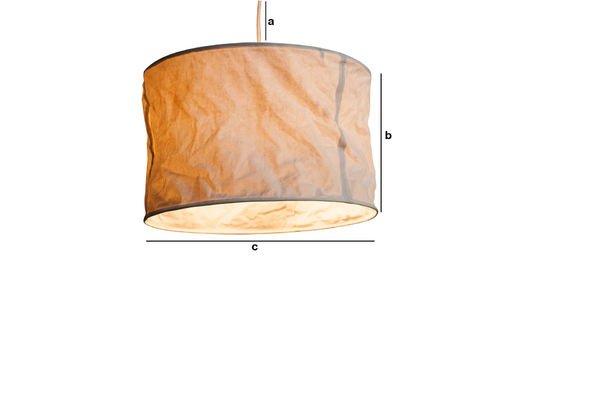 Dimensions du produit Suspension Newport
