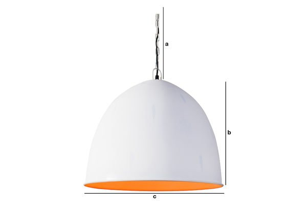 Dimensions du produit Suspension Nölia White