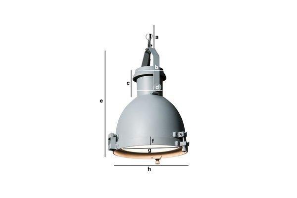 Dimensions du produit Suspension Spitzmüller