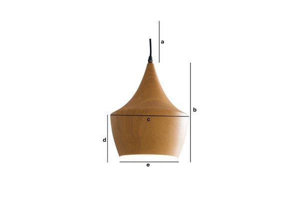 Dimensions du produit Suspension Svéa