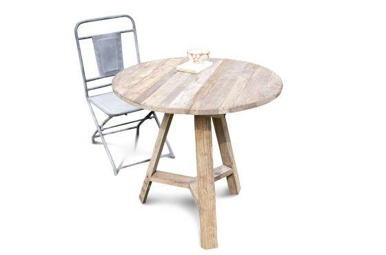Table à rabats en orme ancien Détouré