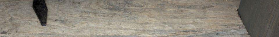 Mise en avant matière Table basse à Losanges métalliques