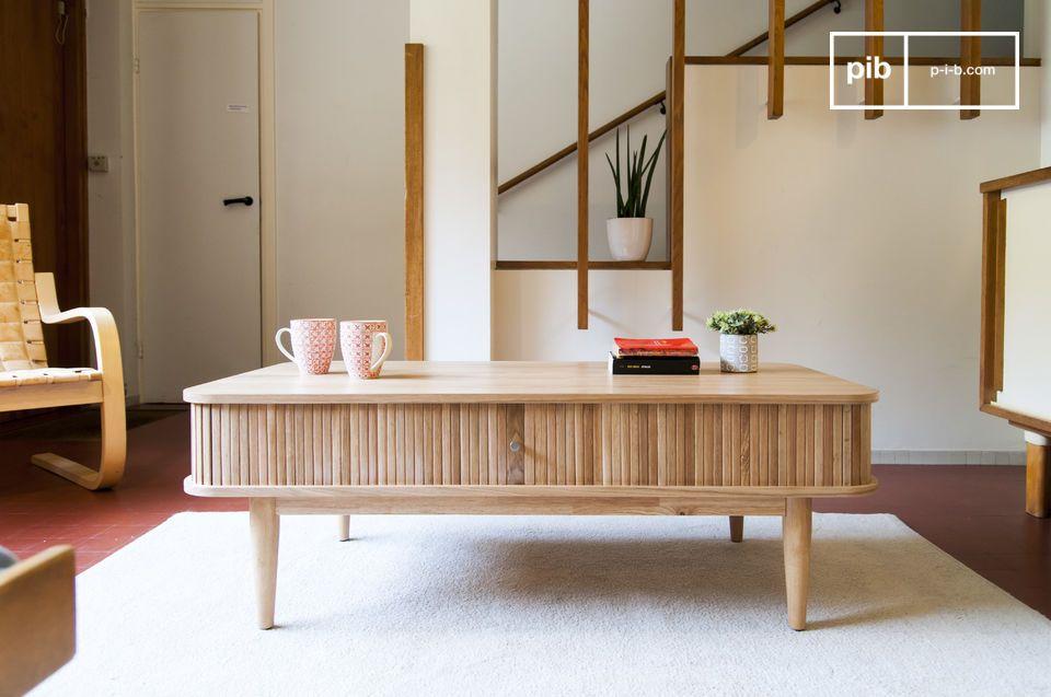 Table basse à rideaux Ritz