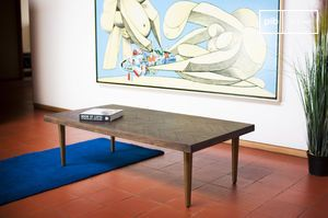 Table basse design vintage alienor