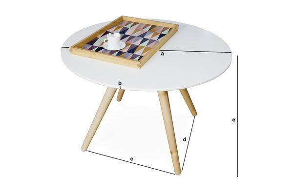 Dimensions du produit Table basse Beel
