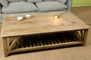 Grande table basse retro cadynam