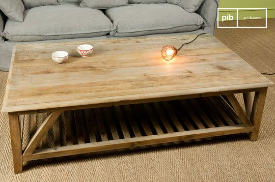 Table basse retro cadynam
