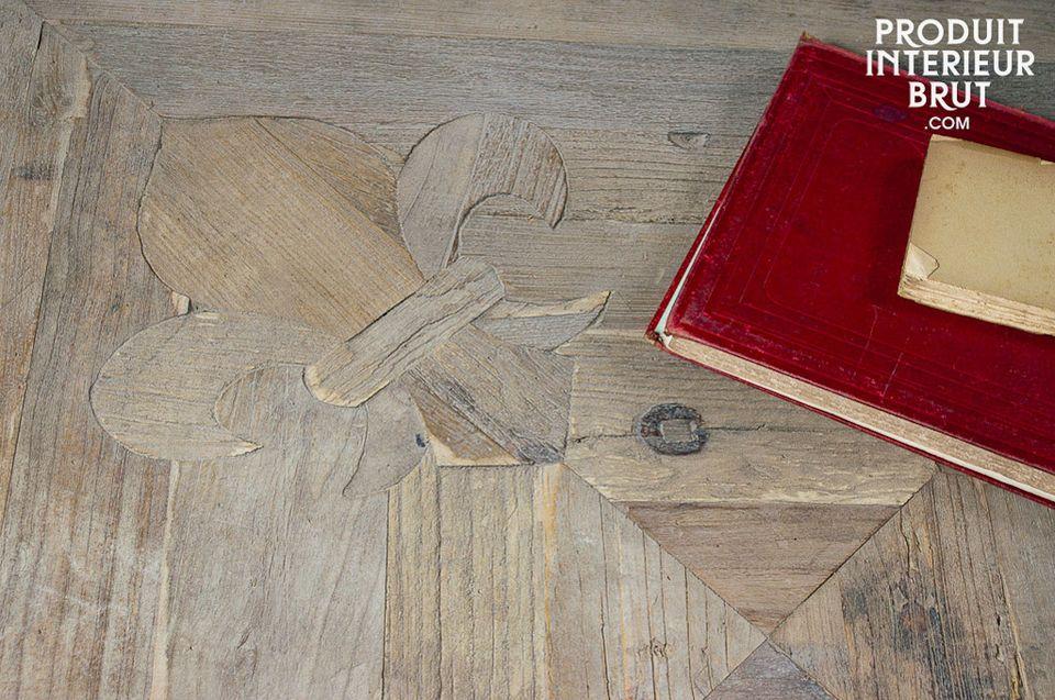 Le cachet d'une réalisation tout en bois noble ancien