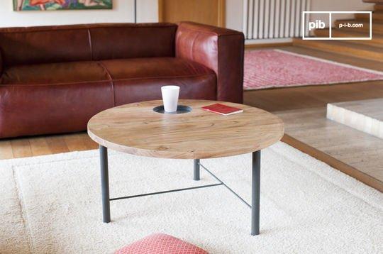 Table basse en bois Bascole