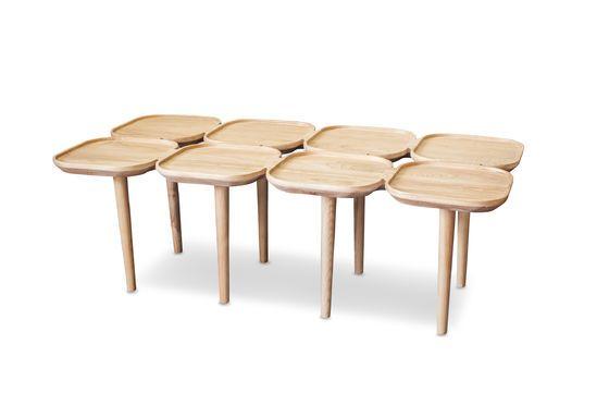 Table basse en bois Kädri Détouré
