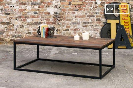 Table basse en bois New Soho