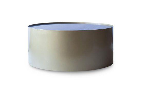 Table basse en laiton et marbre Dickinson Détouré