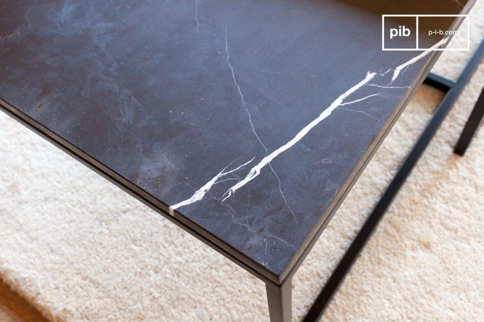 Une table basse raffinée aux notes résolument 50's