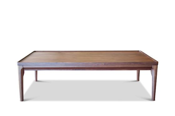Table basse en noyer hem t rectangulaire de 120x60 cm pib for Table basse scandinave noyer