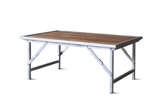 Table basse en teck Bollène Détouré