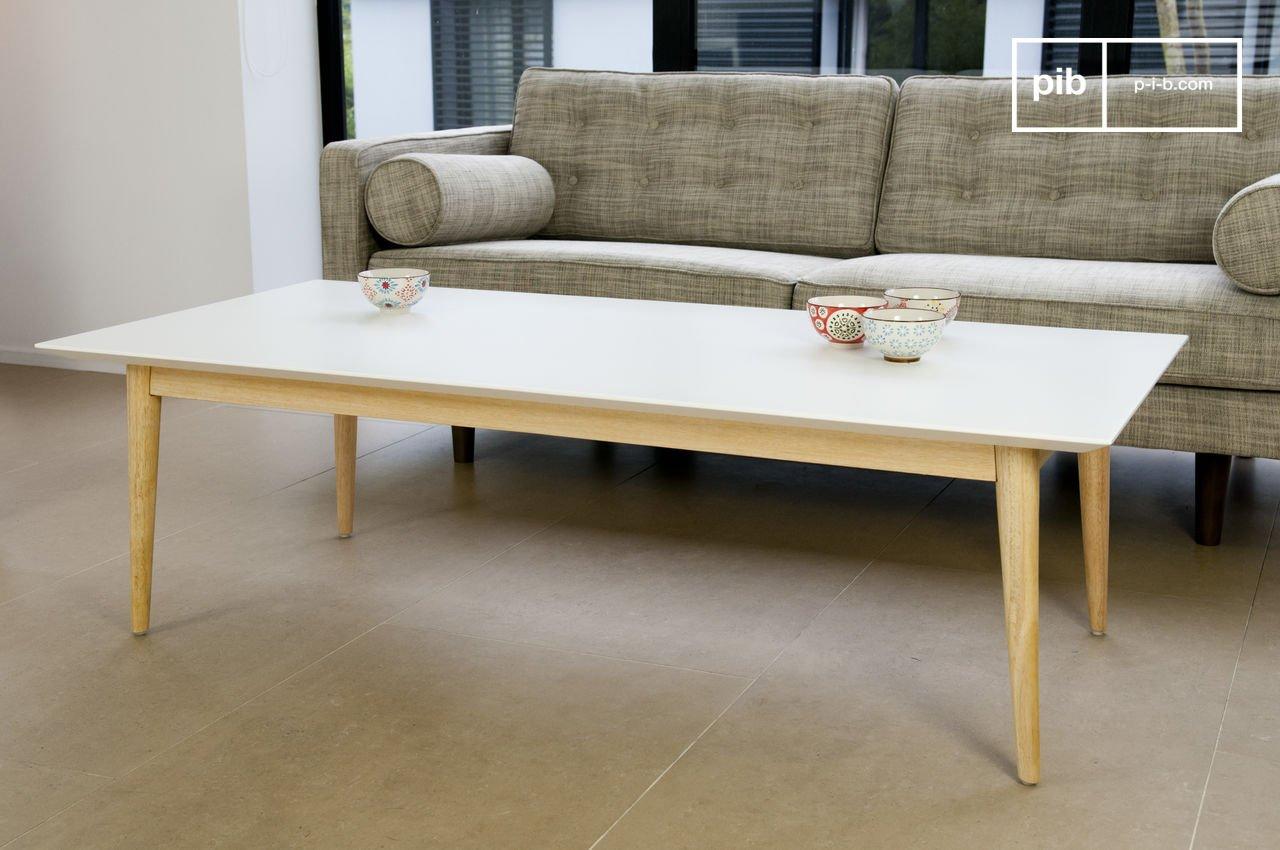 Table basse fjord réalisée tout en bois pib