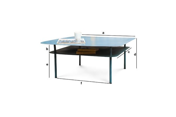 Dimensions du produit Table basse  Holly