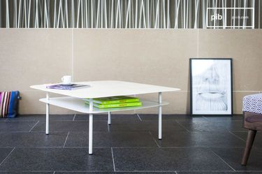Table basse Holly Blanche