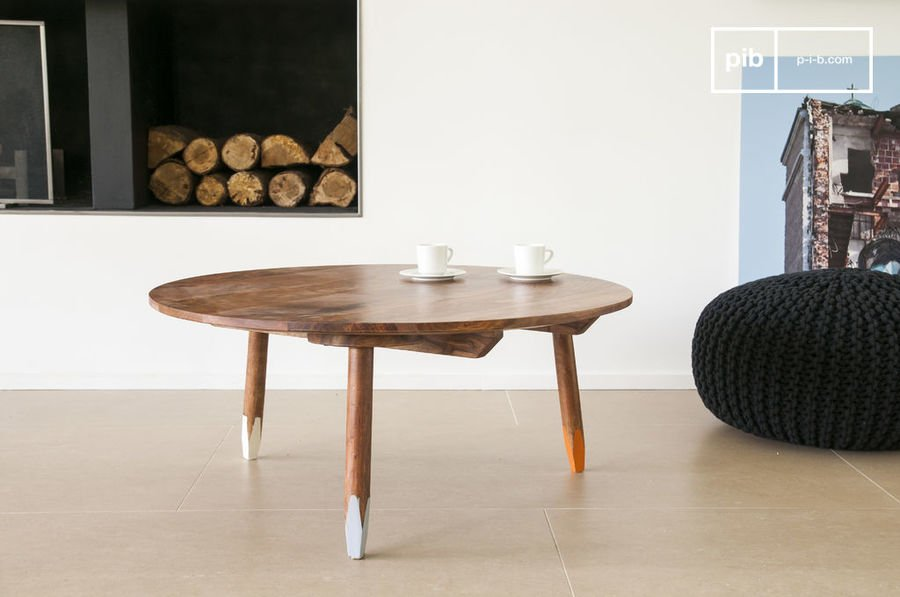 Table basse pencil
