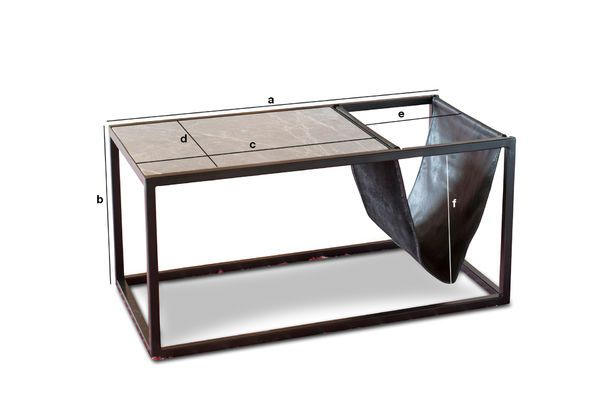 En Basse VintagePib Table IbizaLigne Porte Revue Pierre KJucTlF13
