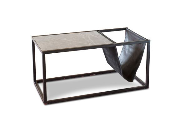 table basse porte revue en pierre ibiza ligne vintage pib. Black Bedroom Furniture Sets. Home Design Ideas