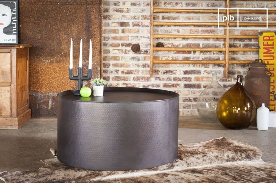 Table basse ronde Subolo