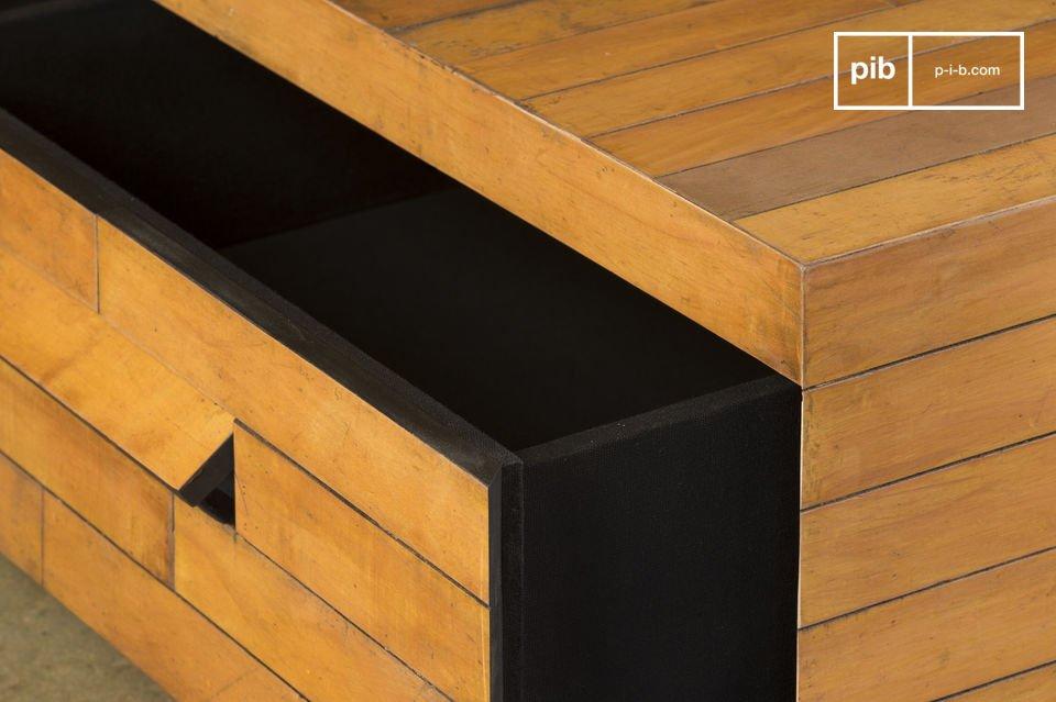 Cette conception fait de chaque table une pièce unique
