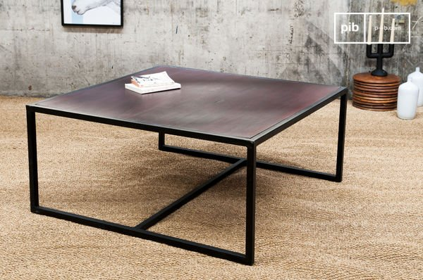 Table Basse Metal Smoke Table Basse En Bois Et Metal Pib