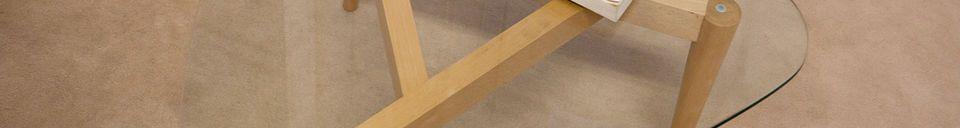 Mise en avant matière Table basse tripode Höti