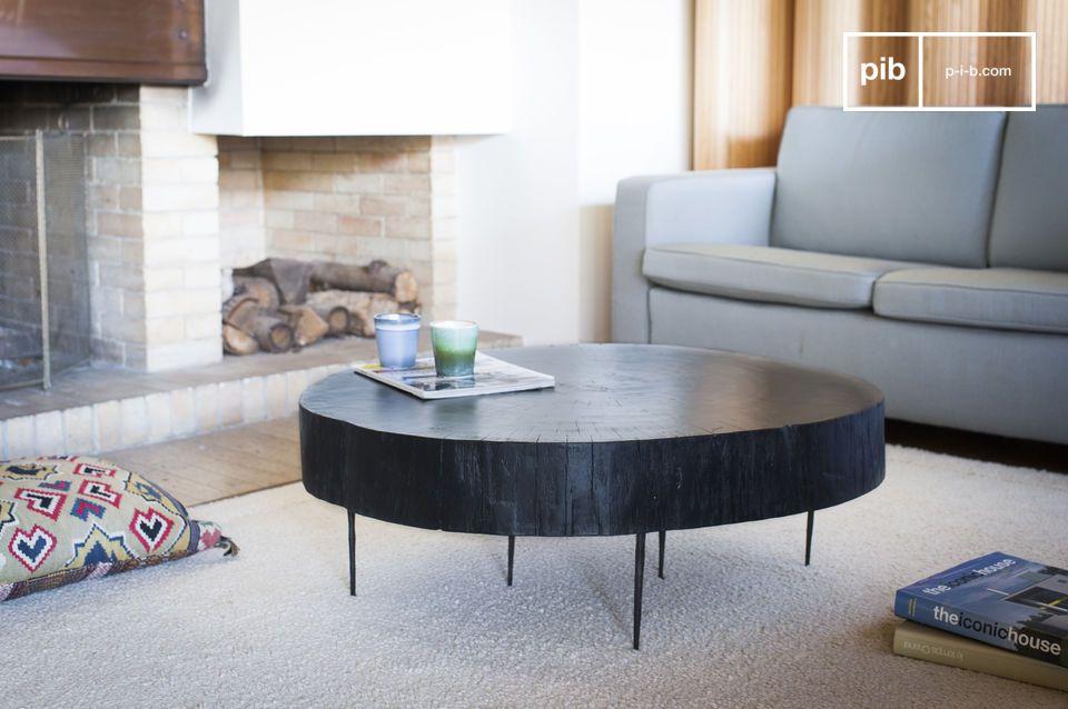Une pièce de mobilier unique intemporelle, à la fois organique et design