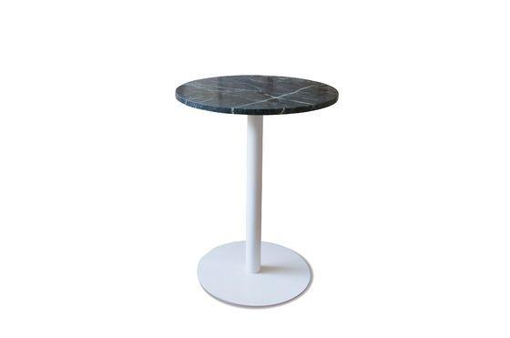 Table bistrot en marbre vert Lasby Détouré