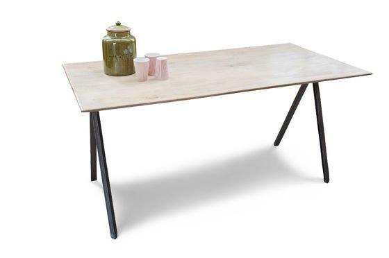 Table bois et métal Jetson Détouré