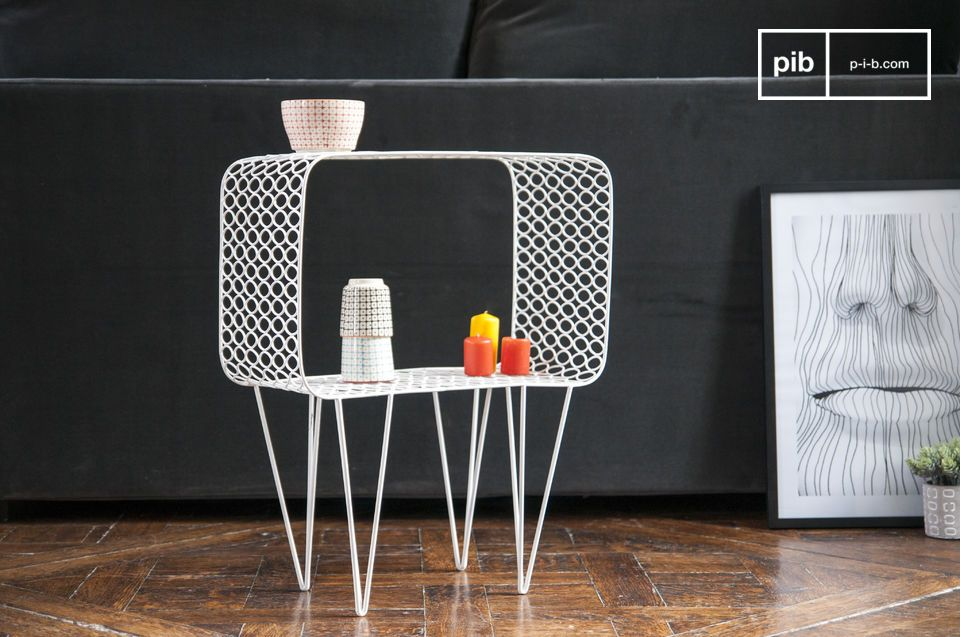 Table d 39 appoint andover un petit meuble design aux pib for Petit meuble d appoint design