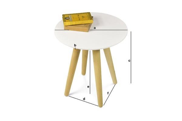Dimensions du produit Table d'appoint Beel