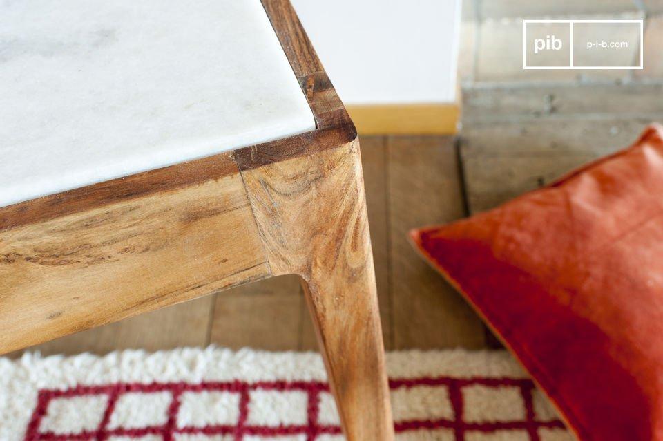 Les finitions de la structure en bois ont été particulièrement soignées pour obtenir un rendu